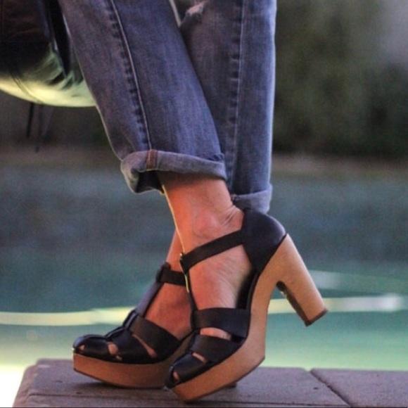 Madewell Shoes - Madewell the andie sandal heels in black